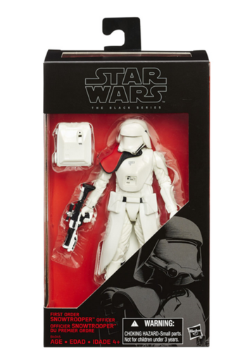 FIRST ORDER SNOWTROOPER OFFICER / TOYS'R'US EXCLUSIVE