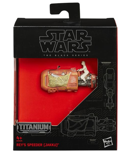 BLACK SERIES TITANIUM REY'S SPEEDER