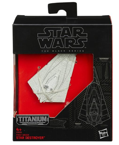 BLACK SERIES TITANIUM FIRST ORDER STARDESTROYER