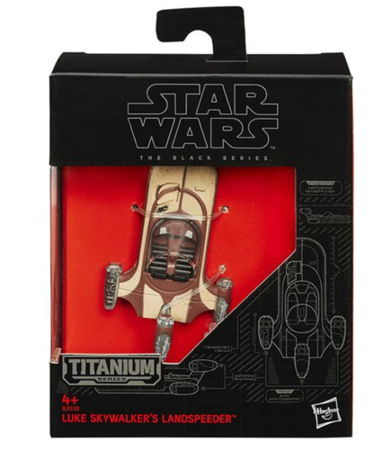 BLACK SERIES TITANIUM LUKE SKYWALKER'S LANDSPEEDER