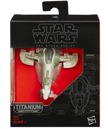 BLACK SERIES TITANIUM SLAVE I (EPISODE V)