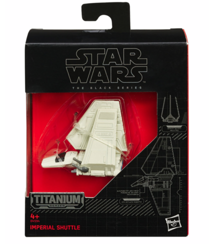 BLACK SERIES TITANIUM IMPERIAL SHUTTLE