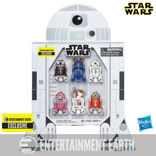"ASTROMECH DROID 6-PACK 3,75"" / ENTERTAINMENT EARTH EXCLUSIVE"