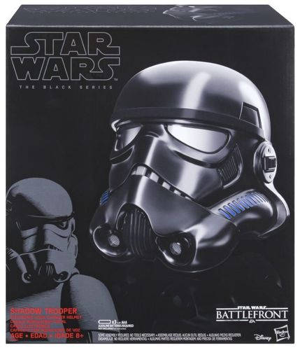 SHADOW TROOPER ELECTRIC VOICE-CHANGER HELMET 1:1 / BATTLEFRONT / EXCLUSIVE