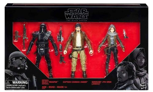 ROGUE ONE 3-PACK / TARGET'S EXCLUSIVE