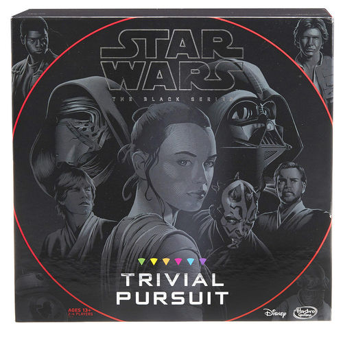 BLACK SERIES EDITION TRIVIAL PURSUIT GAME