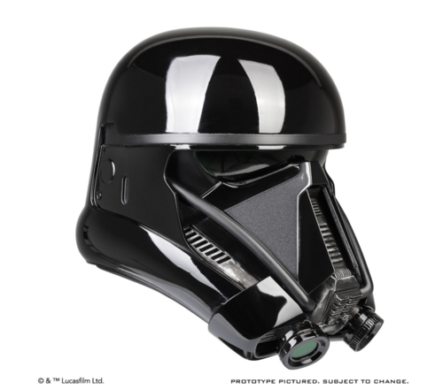 ANOVOS DEATH TROOPER HELMET ACCESSORY