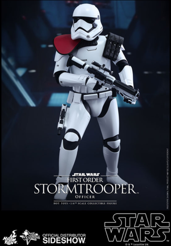 HOT TOYS STAR WARS FIRST ORDER STORMTROOPER OFFICER 1/6  MMS334