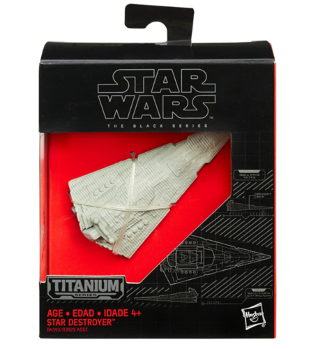 BLACK SERIES TITANIUM IMPERIAL STAR DESTROYER / ROGUE ONE