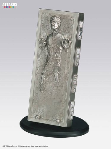 ATTAKUS STAR WARS ELITE COLLECTION HAN SOLO IN CARBONITE / 18 CM