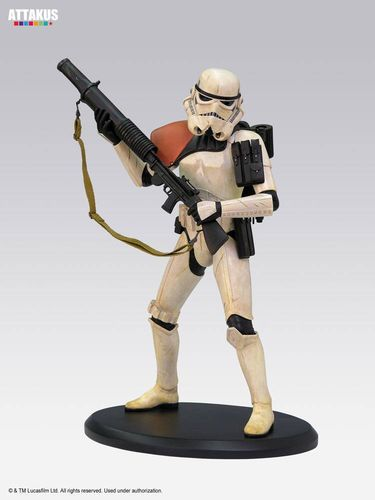 ATTAKUS STAR WARS ELITE COLLECTION SANDTROOPER / 17 CM