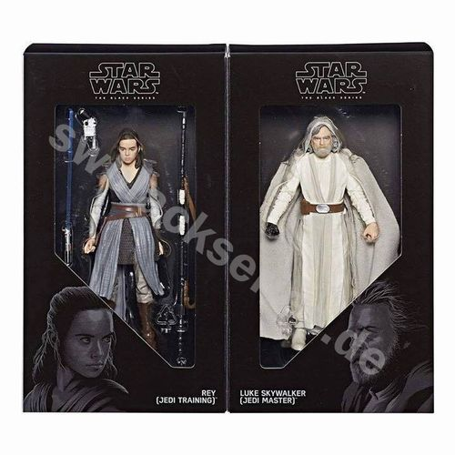 THE LAST JEDI LUKE & REY 2-PACK / SDCC CELEBRATION EXCLUSIVE