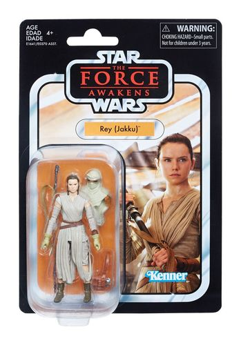THE VINTAGE COLLECTION - REY (JAKKU) 3,75""