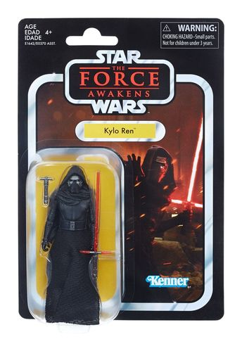 THE VINTAGE COLLECTION - KYLO REN (THE FORCE AWAKENS) 3,75""