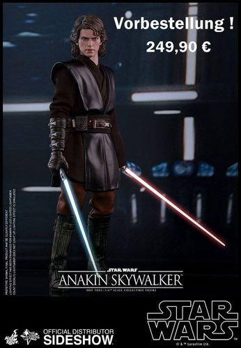 HOT TOYS STAR WARS ANAKIN SKYWALKER 1/6 MMS437