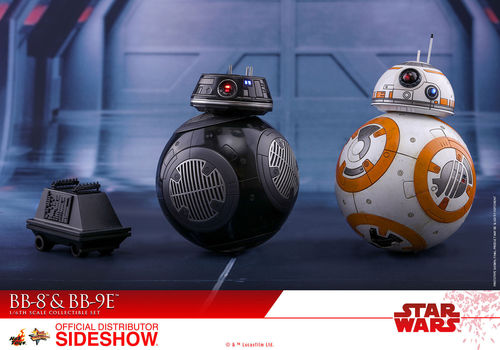 HOT TOYS STAR WARS BB-8 & BB-9E 2-PACK / SIXTH SCALE