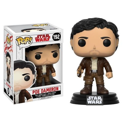 FUNKO POP STAR WARS THE LAST JEDI - POE DAMERON #192