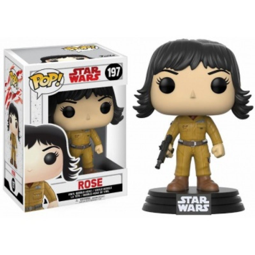 FUNKO POP STAR WARS THE LAST JEDI - ROSE #197