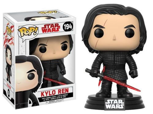 FUNKO POP STAR WARS THE LAST JEDI - KYLO REN #194