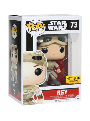 FUNKO POP STAR WARS REY #73 / HOT TOPIC EXCLUSIVE
