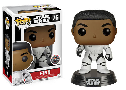 FUNKO POP STAR WARS FINN #76 / GAMESTOP EXCLUSIVE