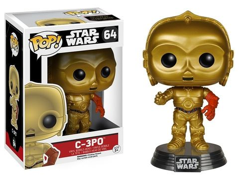 FUNKO POP STAR WARS C-3PO (TFA) #64