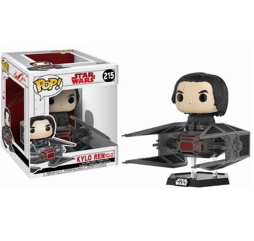 FUNKO POP STAR WARS THE LAST JEDI - KYLO REN WITH TIE FIGHTER