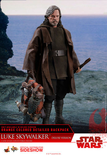 HOT TOYS STAR WARS THE LAST JEDI - LUKE SKYWALKER DELUXE / SIXTH SCALE