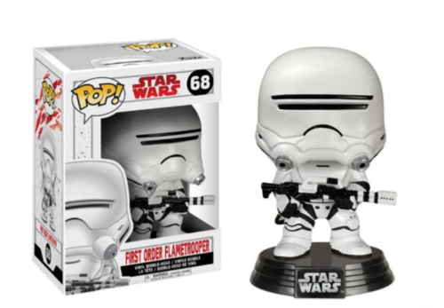 FUNKO POP STAR WARS THE LAST JEDI - FIRST ORDER FLAMETROOPER #68