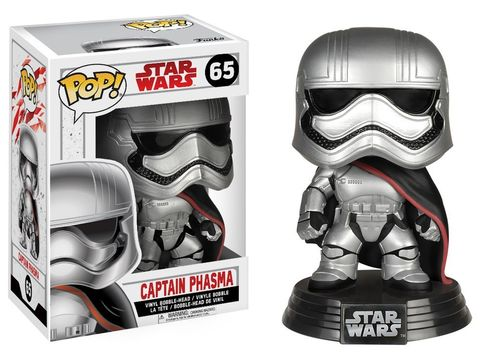FUNKO POP STAR WARS THE LAST JEDI - CAPTAIN PHASMA #65