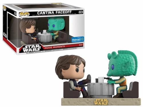 FUNKO POP STAR WARS MOVIE MOMENTS - CANTINA FACEOFF #223 / WALMART EXCLUSIVE