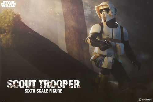 SIDESHOW STAR WARS SCOUT TROOPER  1/6