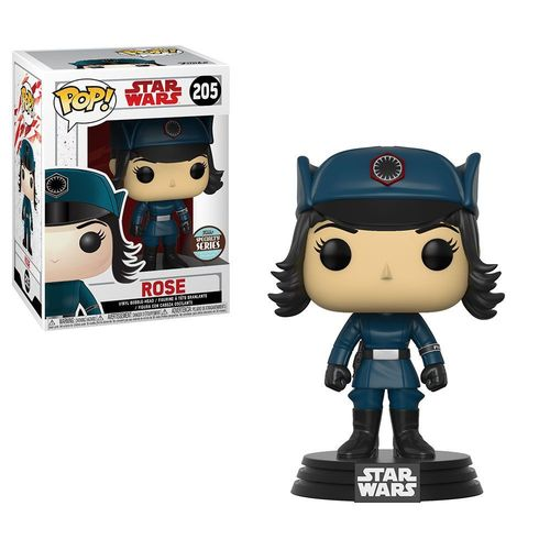 FUNKO POP STAR WARS THE LAST JEDI - ROSE #205 (EXCLUSIVE)