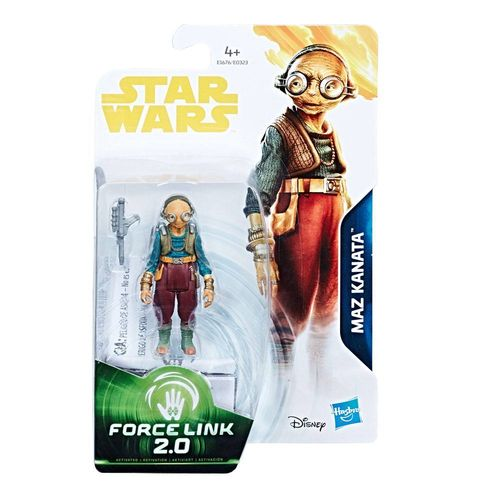 "SOLO - A STAR WARS STORY - MAZ KANATA (THE FORCE AWAKENS) 3,75"" / FORCE LINK 2.0"
