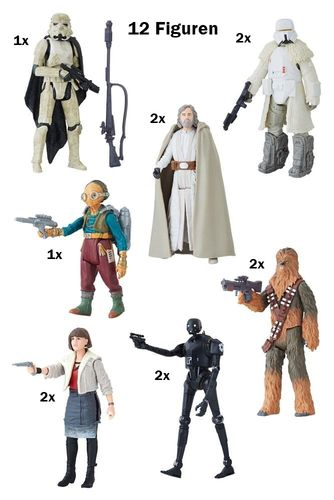"SOLO - A STAR WARS STORY 3,75"" WAVE 1 BASIC LINE / FORCE LINK 2.0 / CLOSED CASE"