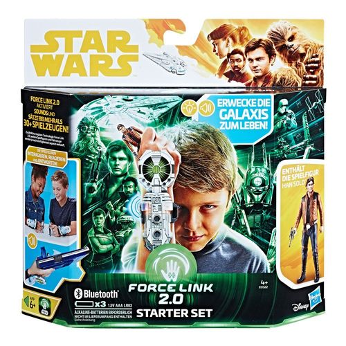SOLO - A STAR WARS STORY -  FORCE LINK 2.0 STARTER-SET DEUTSCH / FORCE LINK 2.0