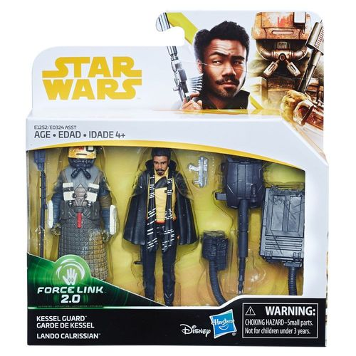 SOLO - A STAR WARS STORY -  KESSEL GUARD + LANDO CALRISSIAN 2-PACK / FORCE LINK 2.0