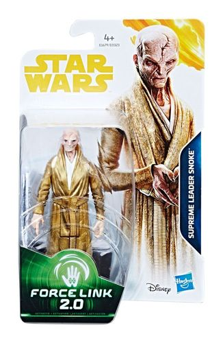 SOLO - A STAR WARS STORY - SUPREME LEADER SNOKE (WAVE 2) / FORCE LINK 2.0
