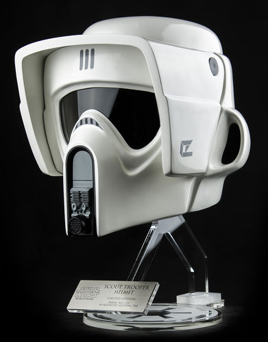 SCOUT TROOPER HELM REPLICA 1:1 / EFX COLLECTIBLES
