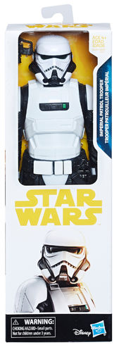 SOLO - A STAR WARS STORY - IMPERIAL PATROL TROOPER / HERO SERIES 12""