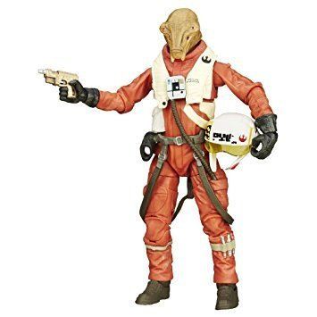 "X-WING PILOT ASTY 6"" / LOOSE"