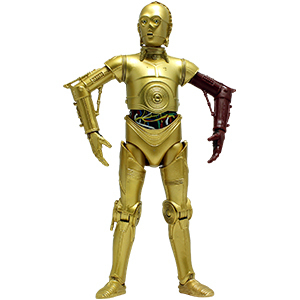 "C-3PO (TFA) DARK ARM VARIANT 6"" / LOOSE"
