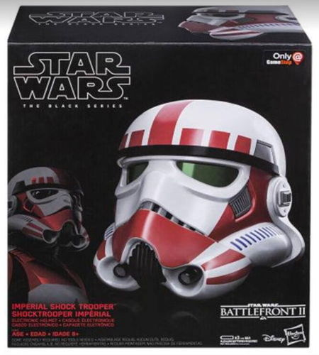 BLACK SERIES ELECTRONIC SHOCKTROOPER HELMET (BATTLEFRONT II) 1:1 / GAME STOP USA EXCLUSIVE