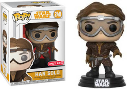 FUNKO POP STAR WARS SOLO - HAN SOLO #248 / TARGET EXCLUSIVE