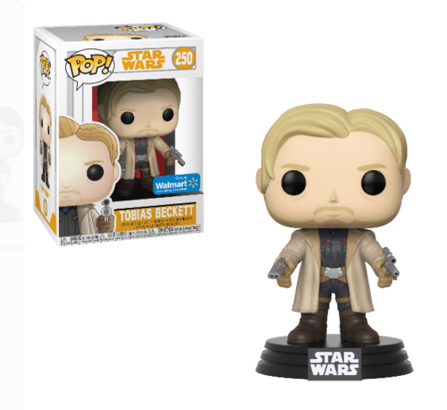 FUNKO POP STAR WARS SOLO - TOBIAS BECKETT #250 / WALMART EXCLUSIVE