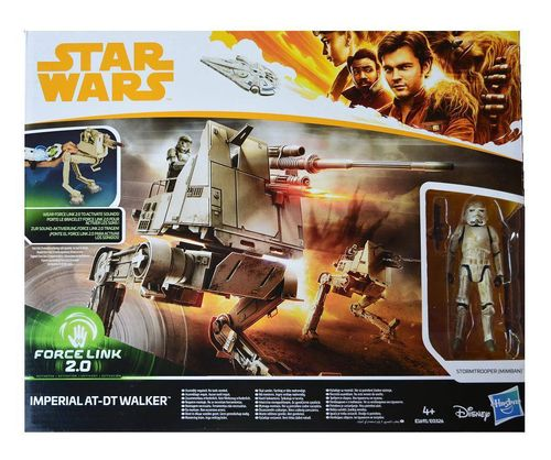 SOLO - A STAR WARS STORY - IMPERIAL AT-DT WALKER + MIMBAN STORMTROOPER / FORCE LINK 2.0
