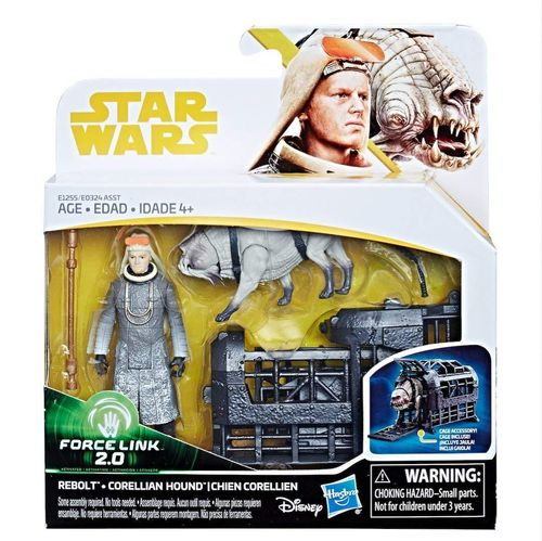 SOLO - A STAR WARS STORY - REBOLT + CORELLIAN HOUND 2-PACK / FORCE LINK 2.0
