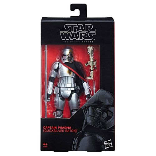 "CAPTAIN PHASMA (QUICKSILVER BATON) 6"" / TRU EXCLUSIVE"