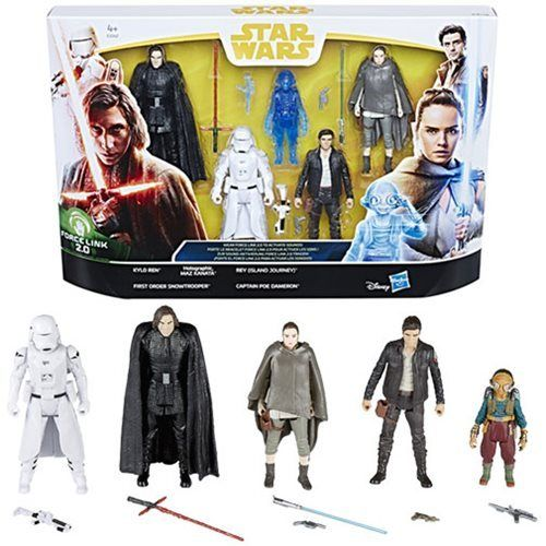 THE LAST JEDI 5-PACK SDCC EXCLUSIVE / FORCE LINK 2.0