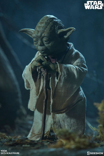 SIDESHOW STAR WARS YODA  / SIXTH SCALE